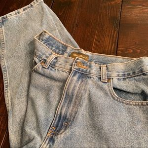 High waisted Eddie Bauer Denim jeans